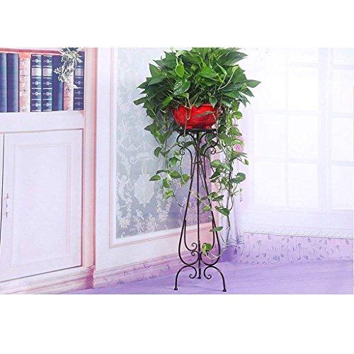 DSJ bloemenrekken Europese stijl bloem frame bodem stijl balkon bloempot rek indoor slaapkamer woonkamer bloemenrek, brons 70cm