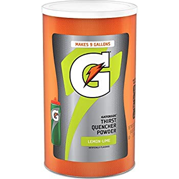 Gatorade Thirst Quencher Powder Lemon Lime 76.5 Ounce,Pack of 1