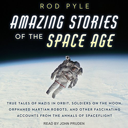 Amazing Stories of the Space Age audiobook cover art
