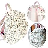 LS Design Kinderrucksack Kindergartentasche Kindergarten Vorschule Rucksack Kinder Mädchen La Petite Rose