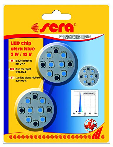 sera LED chip ultra blue 2 W / 12 V 2 St.