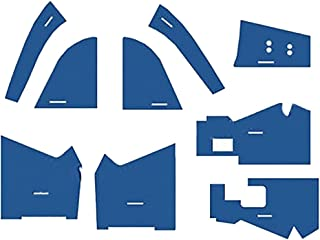 CF5610 New Tractor Blue Cab Kit w/o Headliner for Ford New Holland 5610 6610 +