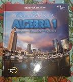 Holt McDougal Algebra 1 California: Teacher Edition 2015