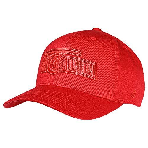1. FC UNION Berlin Cap, Basecap, Mütze 3D Logo Rot