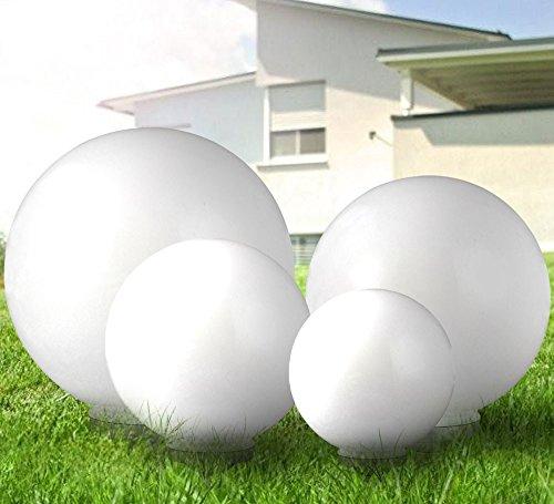 4er Set LED Solarleuchte Gartenleuchte Außenleuchte Kugelform Beleuchtung Lampe