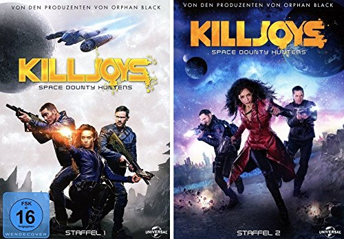 Killjoys - Space Bounty Hunters: Staffel 1+2 (6 DVDs)