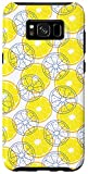 Galaxy S8+ Sliced Lemon Fruit Lover Healthy Food Gift Protective Phone Case