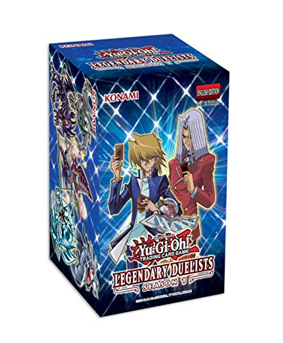Yu-Gi-Oh! Trading Cards Yu-Gi-Oh! Cards: Legendary Duelist Season 1 Box | 6 Ultra Rares | 1 Secret Rare, Multicolor, 083717848950, 083717848950, 083717848950, 083717848950