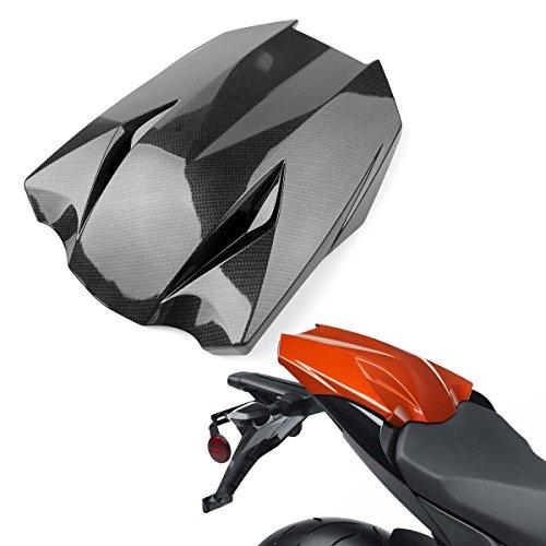 Topteng Motorrad Hinten Sozius-Sitz, Motorrad Fondpassagier Soziusabdeckung ABS Pad Motor Verkleidung Heckabdeckung für Ka-wasaki Z1000 2011-2013