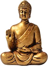 Buddha Statue,Zen Ornaments Crafts,intdoor Mini Buddha Figurine,Religious, Sculpture Decor for Modern Home Living Room Off...