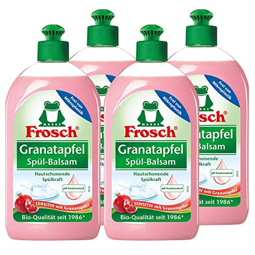 4x Frosch Granatapfel Spül-Balsam 500 ml