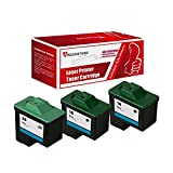 Awesometoner Compatible Ink Cartridge Replacement for Dell T0529 T0530 use with Photo 720, A920 (Black, Color, 3-Pack)