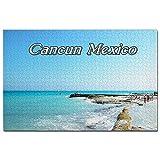 México Isla Cozumel Cancun Jigsaw Puzzle 1000 piezas juego ilustraciones viaje recuerdo madera