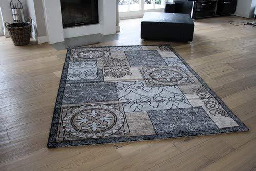 GECO Ambiente Design-Teppich Retro (66 x 130cm)