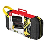 PDP Gaming Pokemon Pikachu Deluxe Travel Case For Console, Up To 14 Games: Pikachu - Nintendo Switch