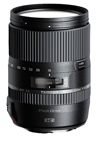 Tamron 16-300mm F/3.5-6.3 Di II VC PZD SLR Macro Objektiv schwarz – Linsen und Kameras (SLR, 12/16, 0,39m, 3,5-40, Auto/Manuell)