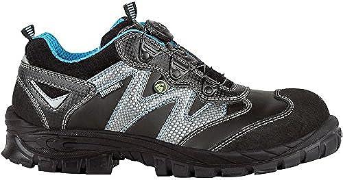 Cofra 13190-000.W44 Chaussures de sécurité Lofn S3 S3 S3 ESD SRC Taille 44, Noir 3d3
