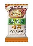 アマノフーズ アマノフーズ 減塩 いつものおみそ汁 根菜 8.5g×10個