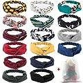 EAONE Women Headbands Boho Headbands Elastic Hair Bands for Sports Summer Yoga