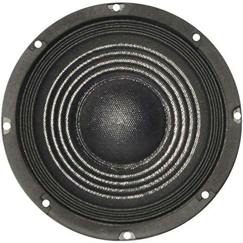 """PLUG & SOUND S-88 diffusore altoparlante medio basso woofer da 20,00 cm 200 mm 8"""" 75 watt rms 150 watt max impedenza 8 ohm casa dj feste disco discoteca party sensibilita' 92 db nero, 1 pezzo"""