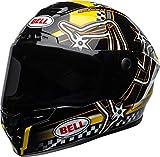 BELL STAR DLX MIPS ISLE OF MAN HELMET BLACK/YELLOW M