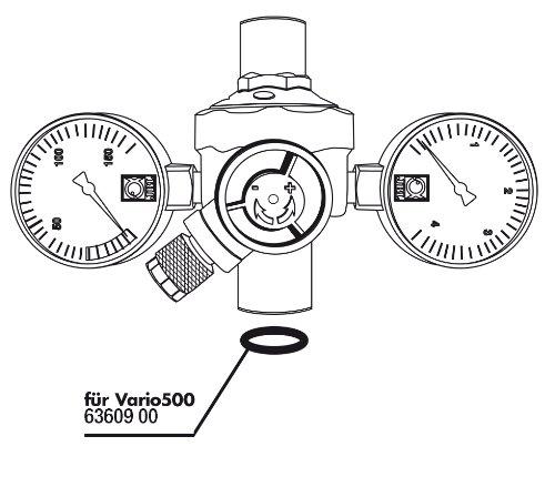 JBL Dichtung f.Druckminderer CO2 Vario 500 2St (*)