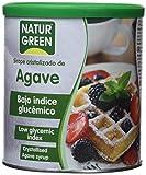 Naturgreen, Sirope cristalizado de Agave, 2 Paquetes de 500gr - Total: 1 kg