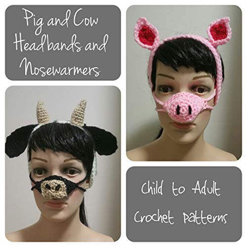 Pig and Cow Earwarmers and Nosewarmers (English Edition)