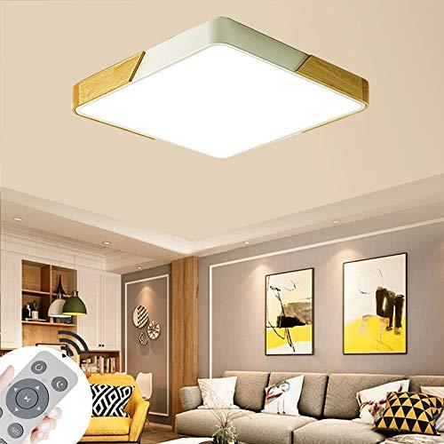 MIWOOHO 60W LED Deckenleuchte Dimmbar mit 2.4G Fernbedienung Modern Deckenlampe Schlafzimmer Küche Flur Wohnzimmer Lampe [Energieklasse A++]