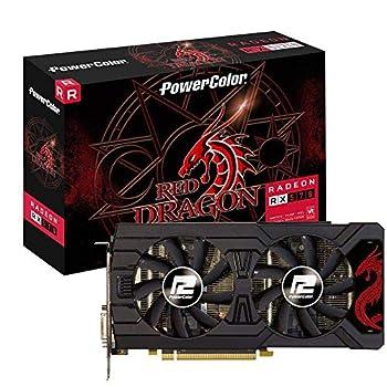 PowerColor Red Dragon AMD Radeon RX570 8GB GDDR5 AXRX 570 8GBD5-3DHD/OC