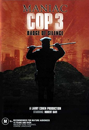 Maniac Cop 3: Badge of Silence Movie Poster (27,94 x 43,18 cm)