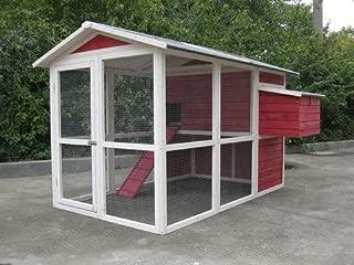 【アメリカINNOVATIONPET】 他ではほとんど見ないデザインの鳥小屋です。イノベーションペットCoops & Feathers® オールドレッドバーンバードケージ