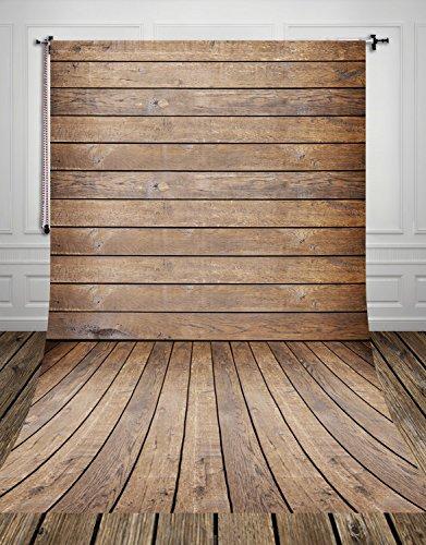 Coloc fotobehang, 150 x 220 cm, hout, vintage, dun, vinyl, fotobehang, canvas, motief floordrop, personaliseerbaar, voor pasgeborenen, digitale druk, in het midden bedrukt, D-8058