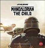 The Mandalorian The Child Postkartenkalender 2022 - Star Wars - Kalender mit perforierten Postkarten - zum Aufstellen und Aufhängen - mit Monatskalendarium - 16 x 17 cm