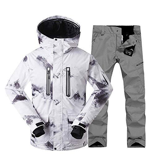 Winter ski pak voor mannen ski jas broek waterdichte snowboard sets outdoor ski sport snowboarden pak M Q4