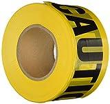 Avertissement jaune Ruban adhésif Motif Barricade 3 x 1000