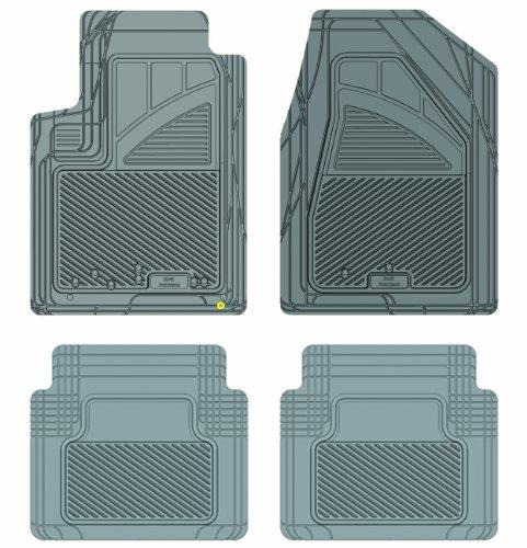 Koolatron Pants Saver Custom Fit 4 Piece All Weather Car Mat for Select Chrysler Sebring Models (Grey)