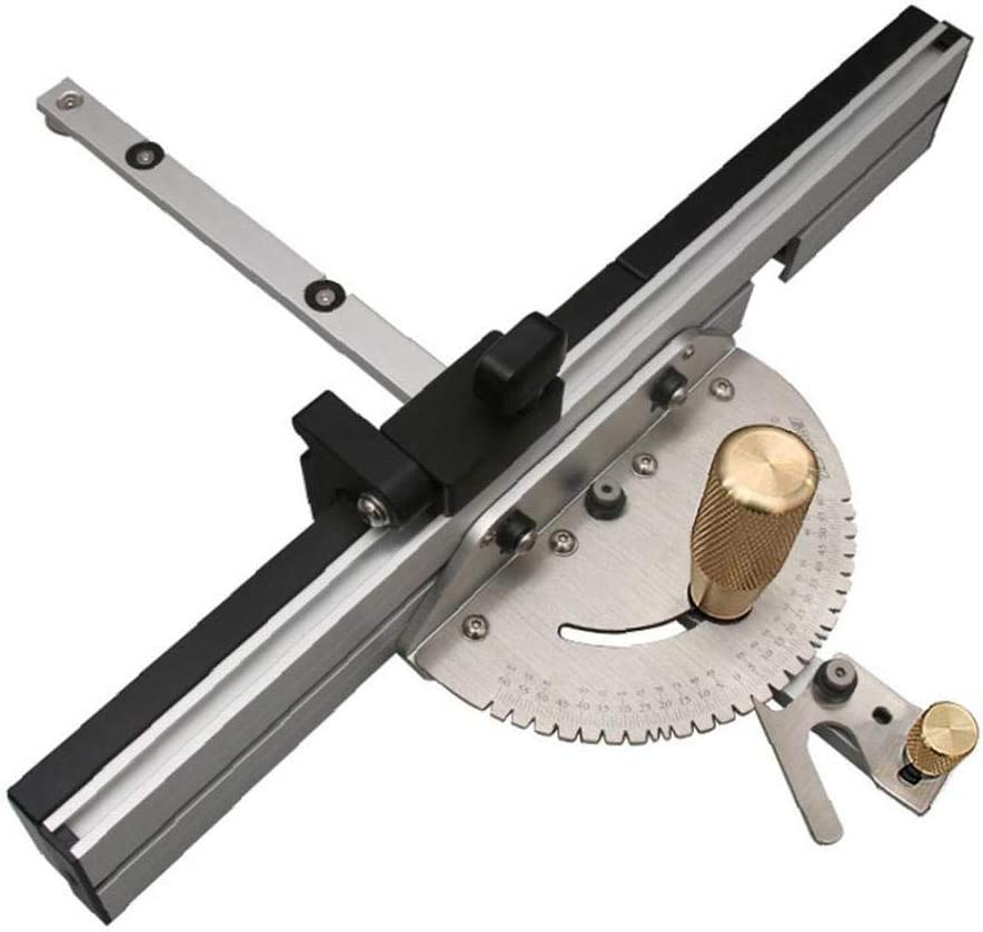 Durable Miter High order Gauge Precision Omaha Mall Table with Saw Aluminu