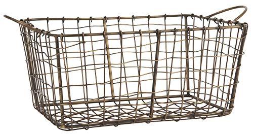 IB Laursen Cestino per la spesa, in metallo, 38 x 25 cm, 57114-17