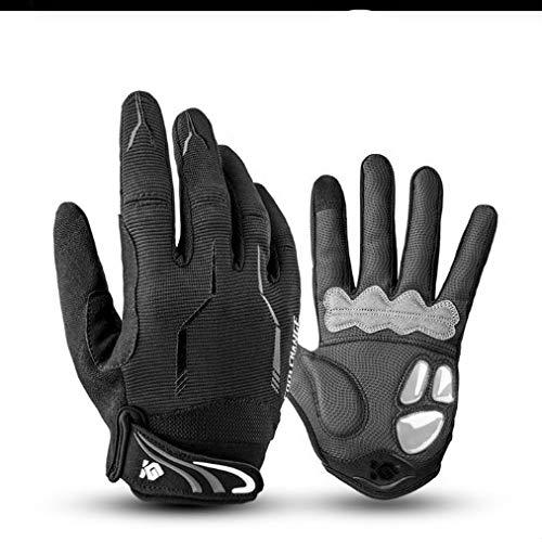 Radfahren Handschuhe Touchscreen Fahrradhandschuhe Sport Stoßfest MTB Road Vollfinger Fahrradhandschuh Für Männer Frau a23 L