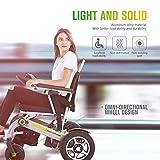 Nueva silla de ruedas eléctrica plegable completamente nueva de los Gps 2019, para una silla de ruedas moderna de la persona lisiada