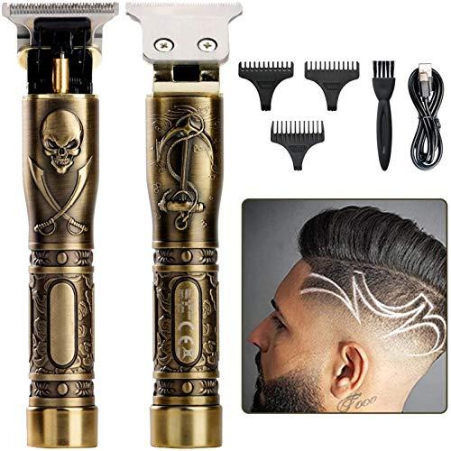 Cortapelos profesional para hombre, cortadora de pelo eléctrica Outliner Kit Zero Gapped...