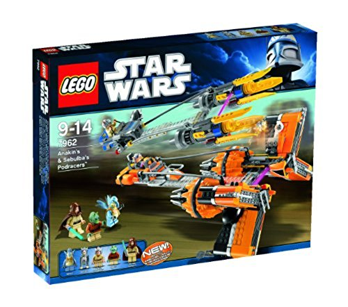 LEGO Star Wars 7962 - Anakins und Sebulba's PodRacers