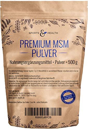 MSM Pulver 0,5 kg Beutel - OptiMSM® - Methylsulfonylmethan
