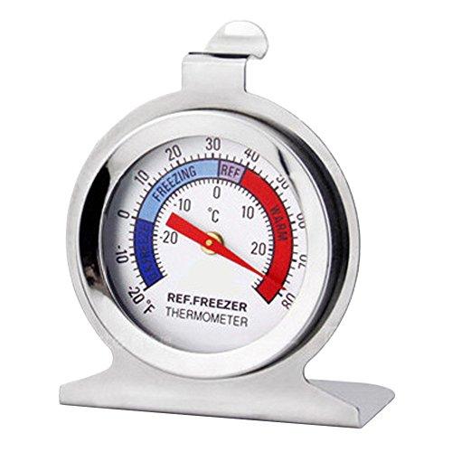 Lucog - Esfera clásica para frigorífico y congelador, termómetro ...