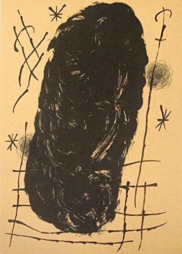 1965 Joan Miro bailarina de le Miroir, no, 151-152, pg Litografía 17