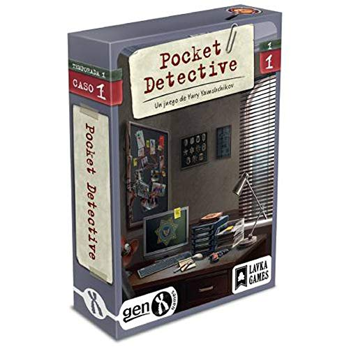 Gen x games Pocket Detective - Temporada 1 - Caso 1