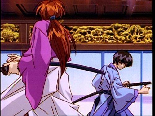 衝撃!折れた逆刃刀・天剣の宗次郎対剣心