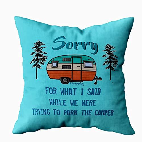 EMMTEEY Home Decor Throw Pillowcase for Sofa Cushion Cover,Sorry for