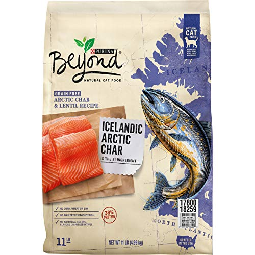 Purina Beyond Grain Free, Natural, High Protein Dry Cat...